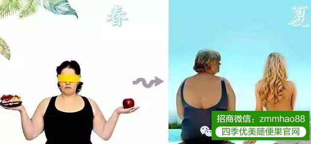 【四季优美】随便果与四季代餐果冻有效搭配减肥更健康!